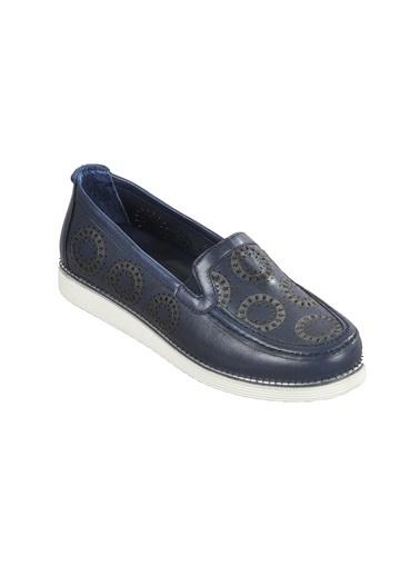 Voyager 7890 Lacivert Kadın Günlük Ayakkabı Lacivert